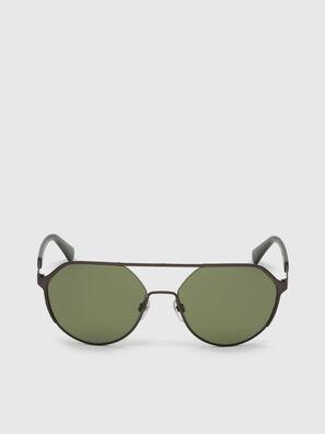 DL0324, Schwarz/Grün - Sonnenbrille