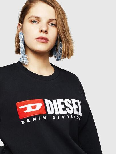 Diesel - F-GIR-DIVISION-FL, Schwarz - Sweatshirts - Image 3