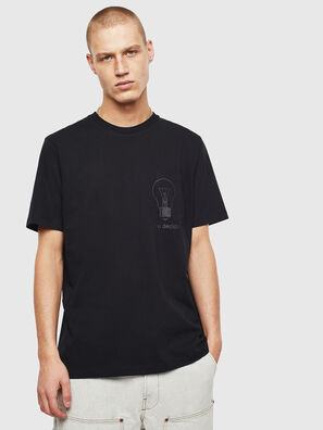 T-JUST-POCKET-T17, Schwarz - T-Shirts