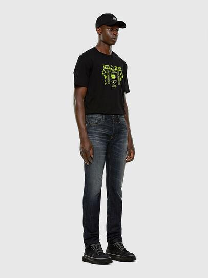 Diesel - Safado 009EP, Dark Blue - Jeans - Image 5