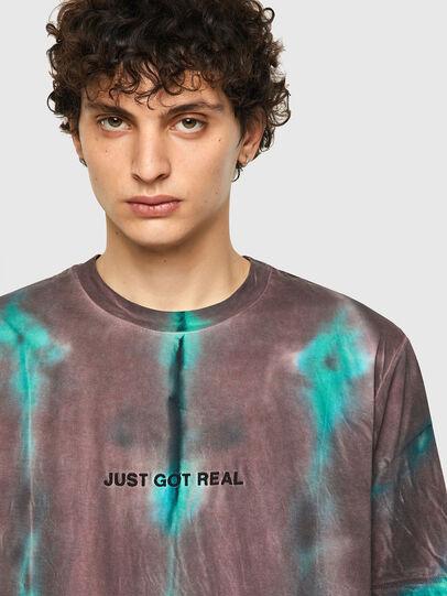 Diesel - T-JUST-B52, Rosa/Grün - T-Shirts - Image 3