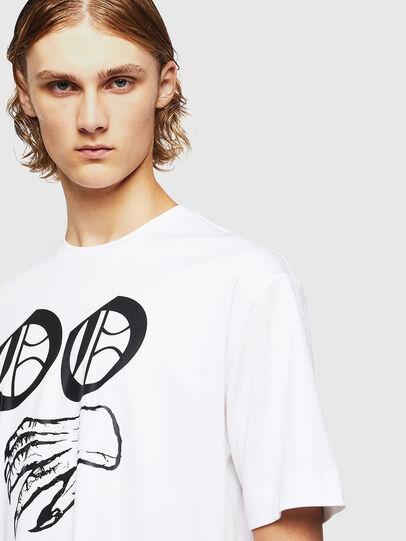 Diesel - TEORIALE-X2, Weiß - T-Shirts - Image 4