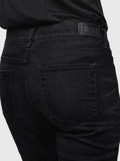 Diesel - D-Ebbey 0091I, Schwarz/Dunkelgrau - Jeans - Image 5