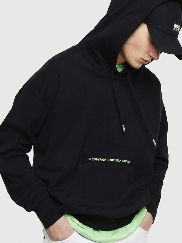 S-ALBY-S2, Schwarz - Sweatshirts