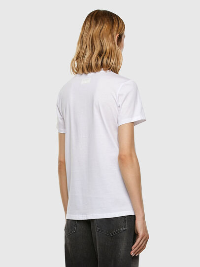 Diesel - T-SILY-E53, Weiß - T-Shirts - Image 6