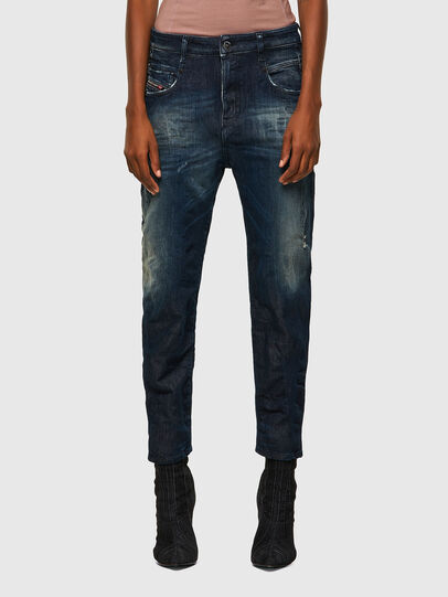 Diesel - Fayza JoggJeans® 09B50, Blu Scuro - Jeans - Image 1