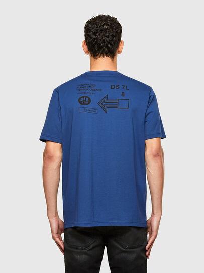 Diesel - T-JUST-A39, Blu - T-Shirts - Image 2
