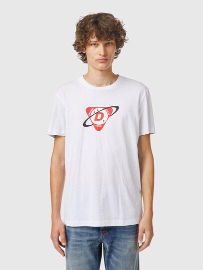 Diesel - T-DIEGOS-K24, Blanc - T-Shirts - Image 1