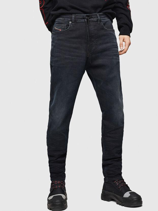 D-Vider JoggJeans 069GE, Schwarz/Dunkelgrau - Jeans