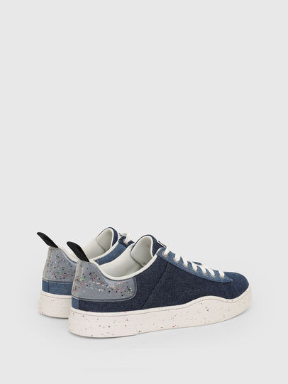 Diesel - S-CLEVER LOW LACE, Blu - Sneakers - Image 3