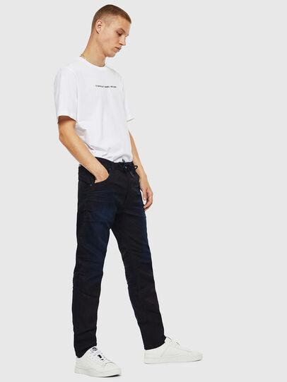 Diesel - Krooley JoggJeans 069IM, Dunkelblau - Jeans - Image 4