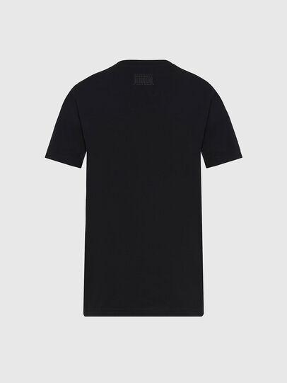 Diesel - T-SILY-E56, Schwarz - T-Shirts - Image 2