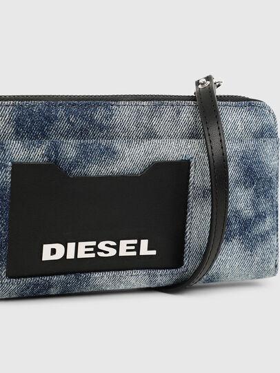 Diesel - ALLIUM, Jeansblau - Portemonnaies Zip-Around - Image 7