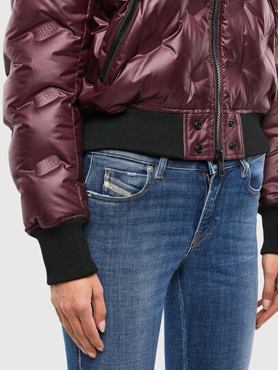 Diesel - W-AVALES, Plum - Winter Jackets - Image 4