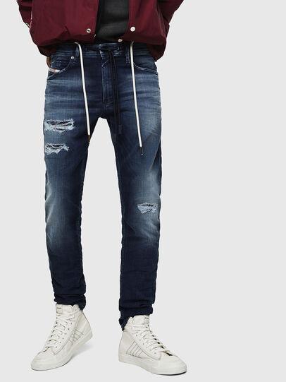 Diesel - Thommer JoggJeans 069JF, Dunkelblau - Jeans - Image 1