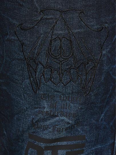 Diesel - D-REEFT JoggJeans® 069RB, Dunkelblau - Jeans - Image 4