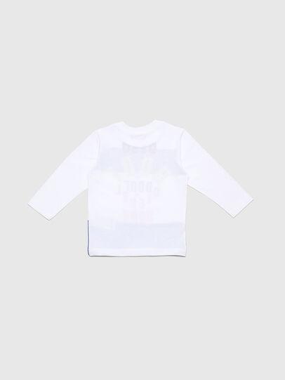 Diesel - TOLIB-R, Weiß/Blau - T-Shirts und Tops - Image 2