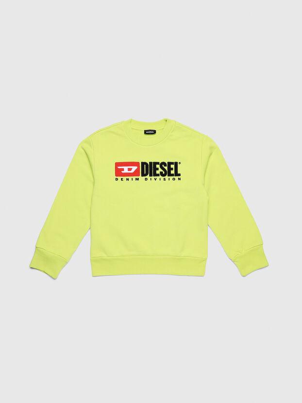 SCREWDIVISION OVER, Neongelb - Sweatshirts