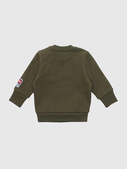 Diesel - SCREWDIVISIONB-D, Armeegrün - Sweatshirts - Image 2
