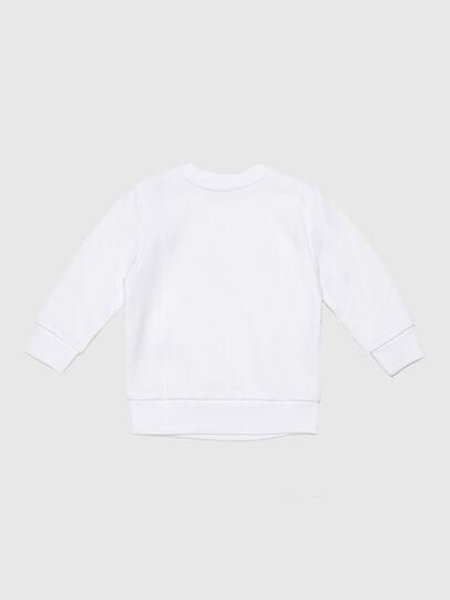 Diesel - SGIRKCUTYB, Blanc - Pull Cotton - Image 2