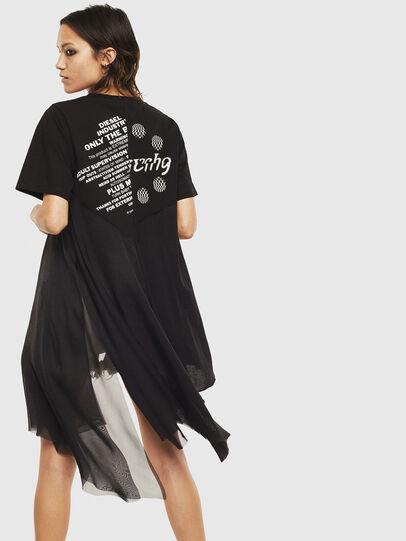 Diesel - T-SETH, Schwarz - T-Shirts - Image 2