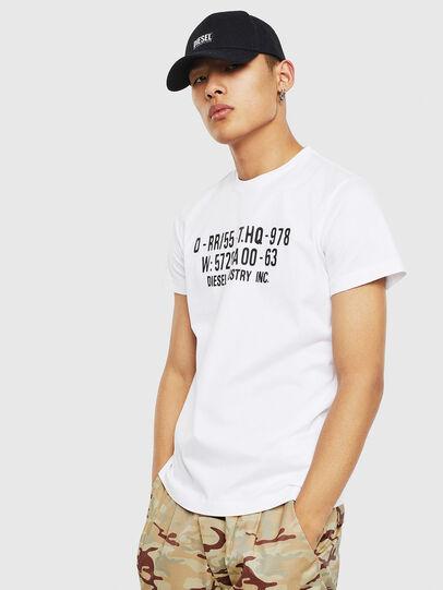 Diesel - T-DIEGO-S2, Weiß - T-Shirts - Image 1