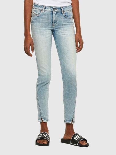 Diesel - D-Jevel 009PQ, Bleu Clair - Jeans - Image 1