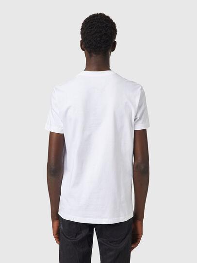 Diesel - T-DIEGOS-B82, Blanc - T-Shirts - Image 2