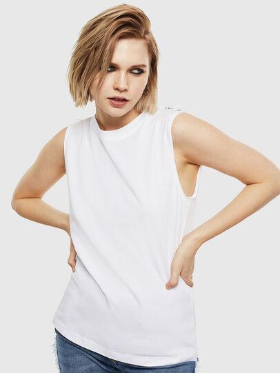 Diesel - T-LESLEE-A, Weiß - T-Shirts - Image 1