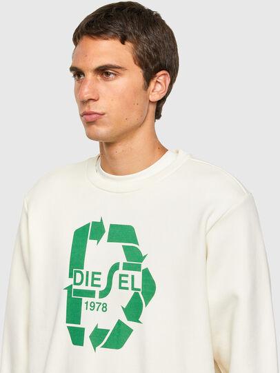 Diesel - S-GIRK-N81, Weiß - Sweatshirts - Image 5