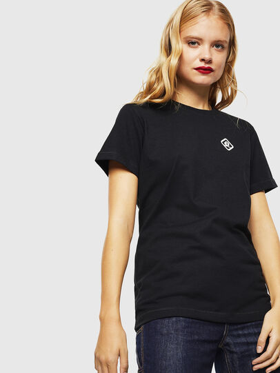 Diesel - CC-T-DIEGO-COLA, Schwarz - T-Shirts - Image 3