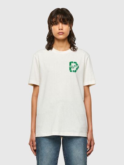 Diesel - T-JUST-N40, Weiß - T-Shirts - Image 2