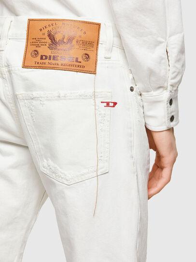 Diesel - D-Kras 0HBAJ, Blanc - Jeans - Image 4