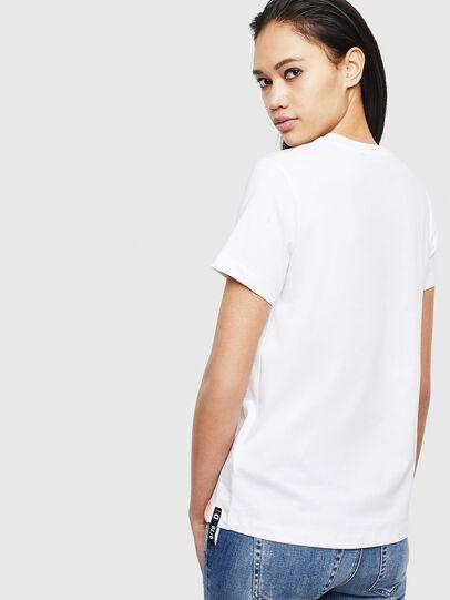 Diesel - T-SILY-S8, Weiß - T-Shirts - Image 2