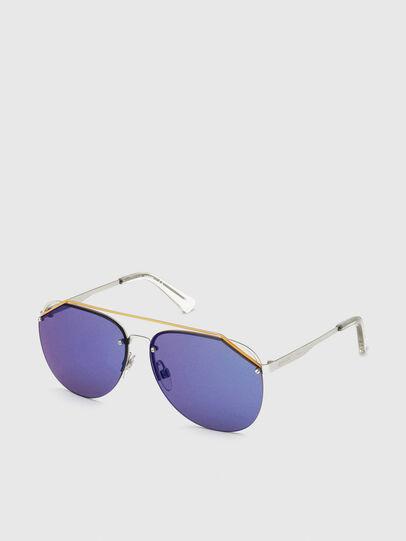 Diesel - DL0314, Weiß/Blau - Sonnenbrille - Image 2