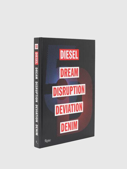 Diesel - 5D Diesel Dream Disruption Deviation Denim, Noir - Livres - Image 1