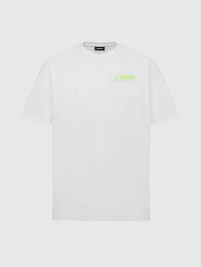 Diesel - T-JUST-SLITS-X84, Weiß - T-Shirts - Image 1