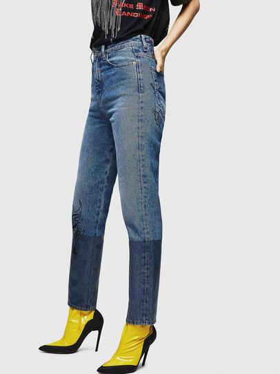 Diesel - D-Eiselle 0078T, Hellblau - Jeans - Image 3