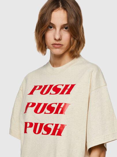 Diesel - T-BOWXY, Blanc - T-Shirts - Image 3