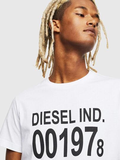 Diesel - T-DIEGO-001978, Weiß - T-Shirts - Image 4