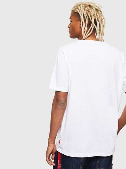 Diesel - CC-T-JUST-COLA, Weiß - T-Shirts - Image 5
