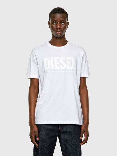 Diesel - T-JUST-INLOGO, Blanc - T-Shirts - Image 1