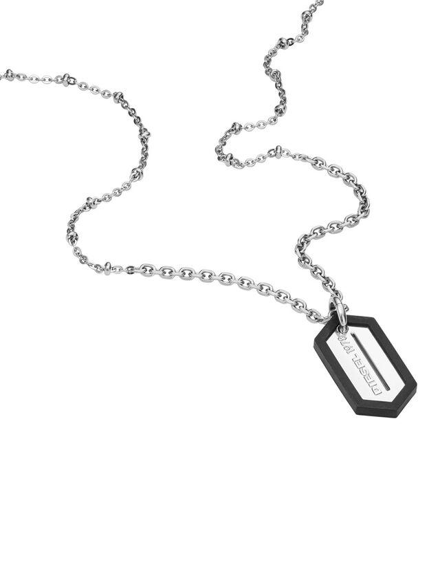 Diesel NECKLACE DX0995, Silber - Halsketten - Image 2
