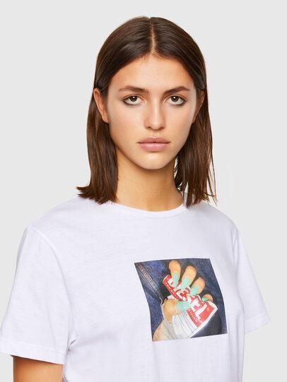 Diesel - T-DARIA-R3, Blanc - T-Shirts - Image 3
