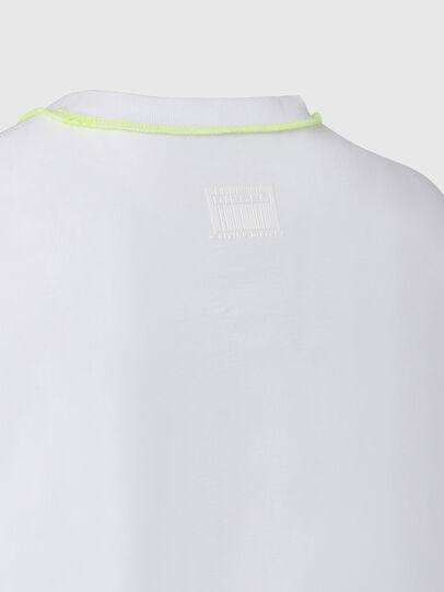 Diesel - T-JUSEAM, Weiß - T-Shirts - Image 4