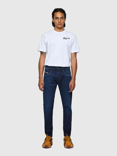 Diesel - D-Strukt JoggJeans® 069WS, Bleu Foncé - Jeans - Image 5