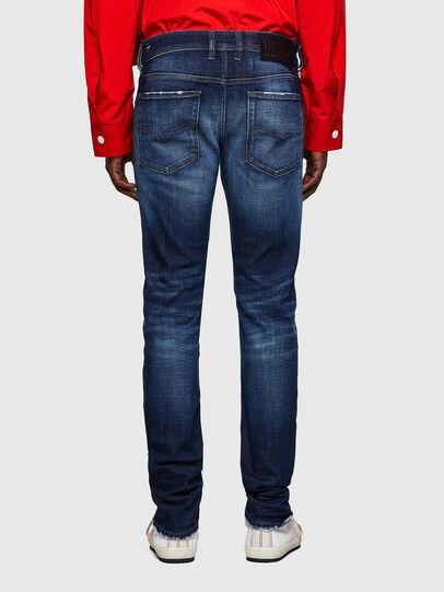 Diesel - Sleenker 09A27, Blu Scuro - Jeans - Image 2