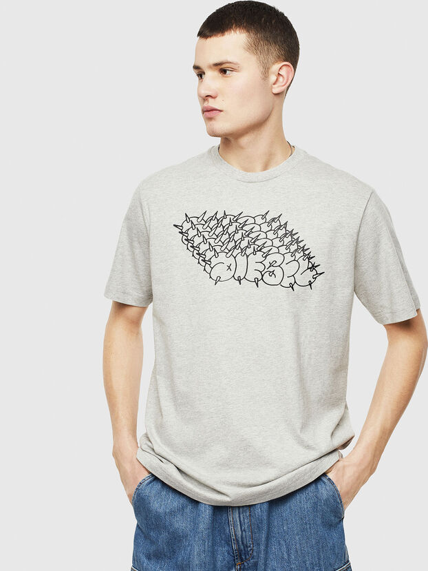 T-JUST-T20, Grau - T-Shirts