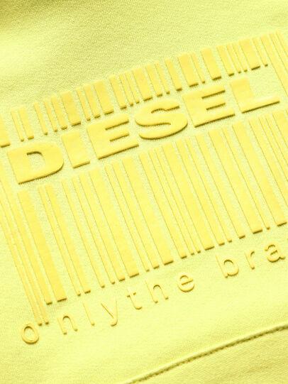 Diesel - SGIRKHOODCODE OVER, Neongrün - Sweatshirts - Image 3