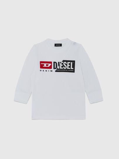 Diesel - TDIEGOCUTYB ML-R, Blanc - T-shirts et Hauts - Image 1
